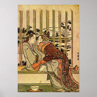 Hokusai's 'Couples' Poster