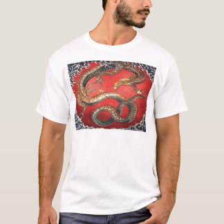 Hokusai's Dragon T-Shirt