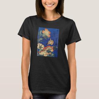 Hokusai's 'Flowers' T-Shirts