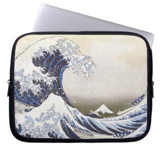 Hokusai's Great Wave Laptop Sleeve