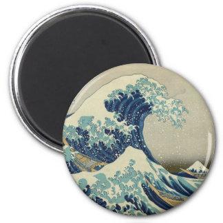 Hokusai's Great Wave off Kanagawa Magnet