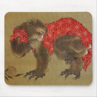 Hokusai's 'Monkey' Mousepad