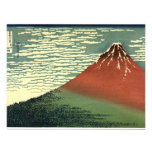 """Hokusai's South Wind, Clear Sky or """"Red Fuji"""" Announcements"""