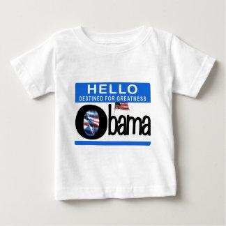 Hola 44.o presidente Barack Obama Playeras