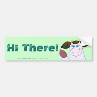 ¡Hola acebo! Pegatina Para Auto