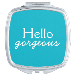 Hola adulación magnífica a cada cara - azul espejo maquillaje