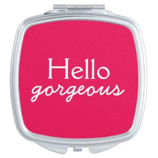 Hola adulación magnífica a cada cara - fucsia espejo maquillaje