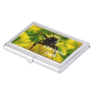 Hola al público caja de tarjetas de negocios