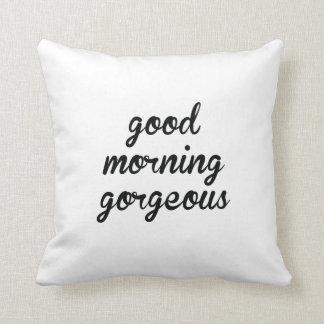 Hola allí almohada magnífica hermosa de la buena m