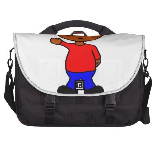 Hola allí bolsa de ordenador