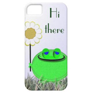 hola allí froggie 55s y margarita funda para iPhone SE/5/5s