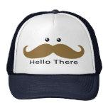 Hola allí gorra (Brown)