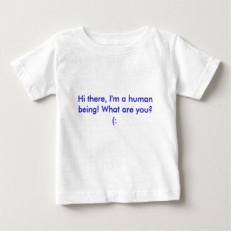 ¡Hola allí, soy un ser humano! ¿Cuáles son usted?  Playeras