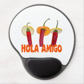 Hola Amigo Gel Mouse Pad