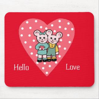 Hola amor tapetes de raton