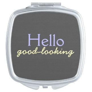 Hola apuesto - adulando a cada cara Prpl Espejos Maquillaje