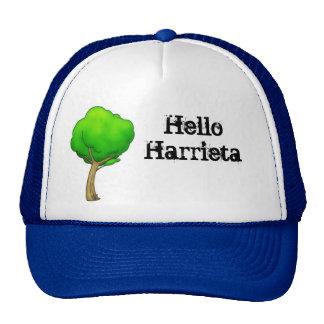 Hola árbol del dibujo animado de Harrieta Gorras