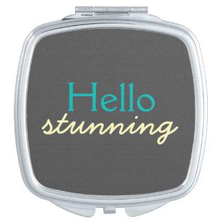 Hola atontamiento - adulando a cada cara - trullo espejos maquillaje