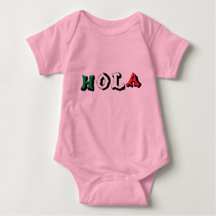 8041e65f0 Funny Mexican Baby Clothes & Shoes   Zazzle