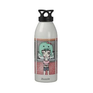 Hola botella de agua del chica de Cthulhu