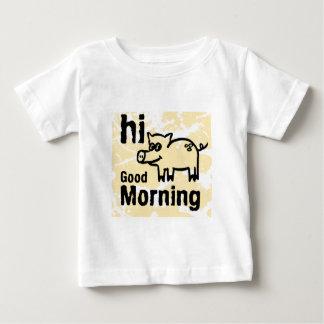 hola buena mañana playeras