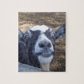 Hola cabra amistosa puzzles