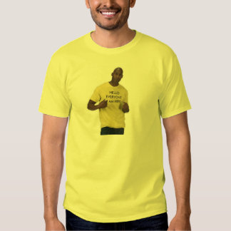 Hola cada uno camiseta de la camiseta polera
