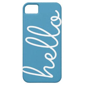 Hola caja del teléfono iPhone 5 Case-Mate coberturas