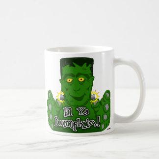 ¡Hola calabaza de Ya! Taza De Café