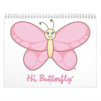 Hola calendario de Butterfly®