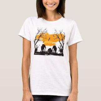Hola camiseta de Hanes ComfortSoft® de las mujeres