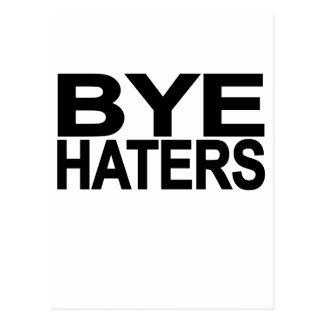Hola camiseta L.png del enemigo del adiós del enem Tarjeta Postal