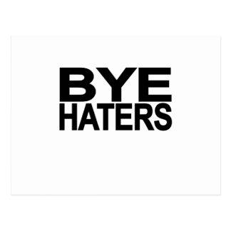 Hola camiseta L.png del enemigo del adiós del enem Tarjetas Postales