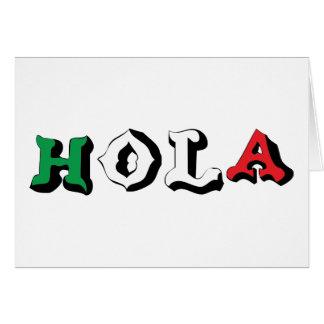 HOLA CARD