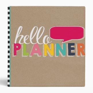 Hola carpeta del planificador