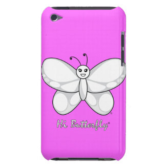 Hola casamata apenas There™ del tacto de Butterfly iPod Touch Case-Mate Protectores