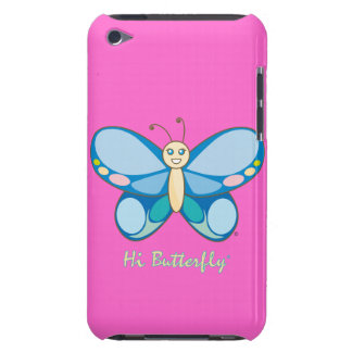 Hola casamata apenas There™ del tacto de Butterfly Barely There iPod Protector