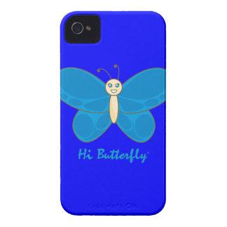 Hola casamata intrépida de Butterfly® Blackberry Case-Mate iPhone 4 Carcasas