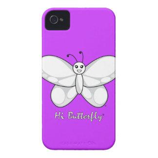 Hola casamata intrépida de Butterfly® Blackberry iPhone 4 Protector