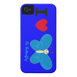 Hola casamata intrépida de Butterfly® Blackberry