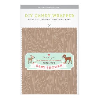 ¡Hola ciervos! Plantilla de la barra de caramelo d Flyer A Todo Color