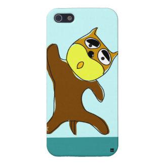Hola cinco caso del iPhone 5 del perro iPhone 5 Protectores
