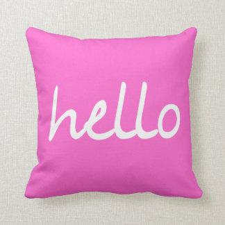 ¡Hola! Cojín Decorativo