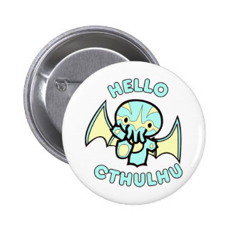 Hola Cthulhu Pins