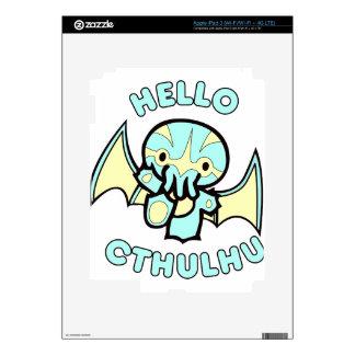 Hola Cthulhu iPad 3 Skin
