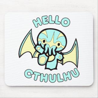 Hola Cthulhu Alfombrillas De Ratón
