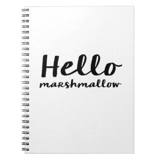 Hola cuaderno de la melcocha