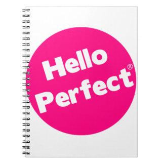 Hola cuaderno perfecto