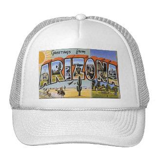 Hola de Arizona Gorros
