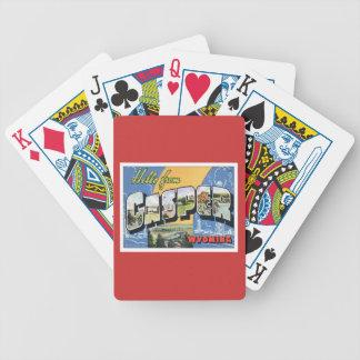 Hola de Casper Wyoming Baraja Cartas De Poker